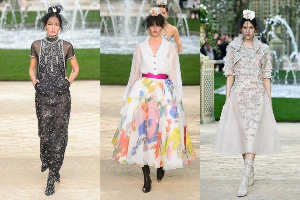 Гулять по парижскому саду: коллекция Chanel Couture