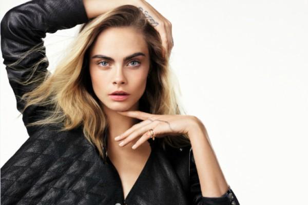 Кара Делевинь в кампании Dior Capture Youth