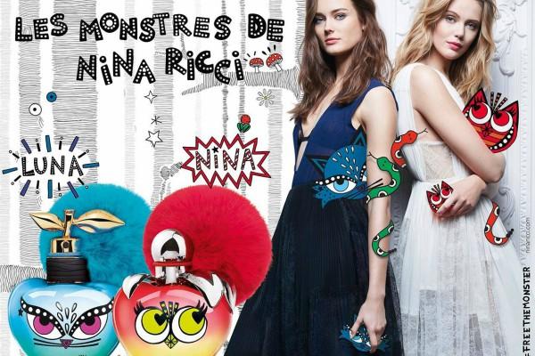 Les Monstres de Nina Ricci Nina & Luna