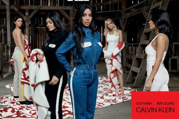 Посмотрите на семью Ким Кардашьян в кампании MyCalvins