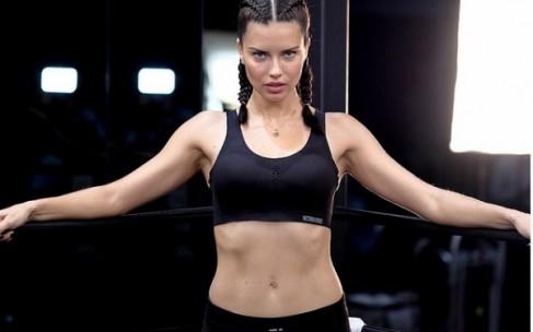 Тренироваться как ангелы Victoria's Secret