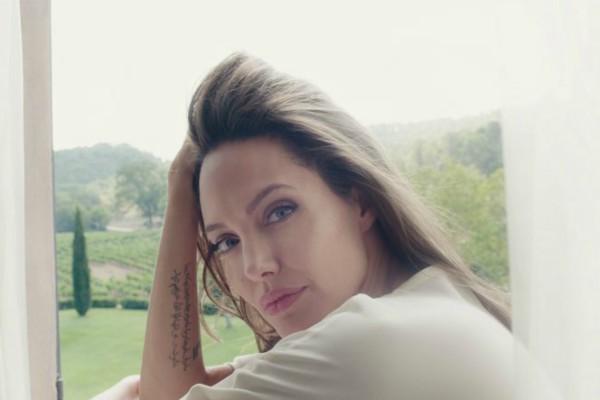 Анджелина Джоли и Mon Guerlain Florale