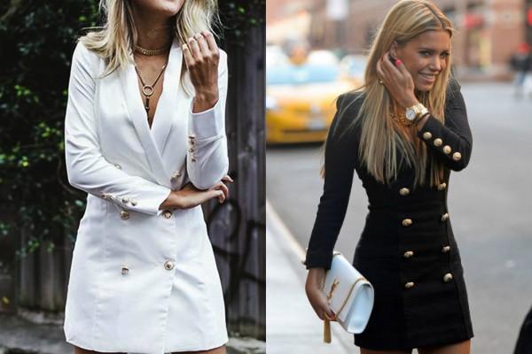 Покупка на весну: платье-пиджак