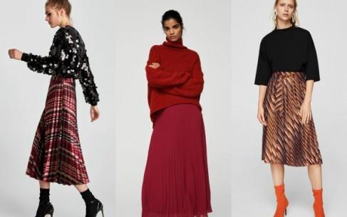 Плиссированная юбка: оставляем на весну
