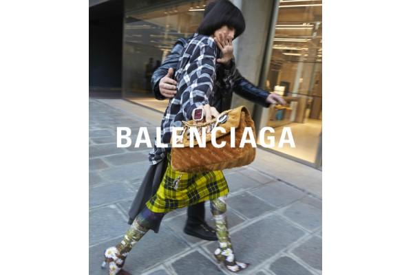 Balenciaga весна-лето 2018