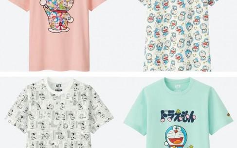 Коллекция футболок UT Doraemon