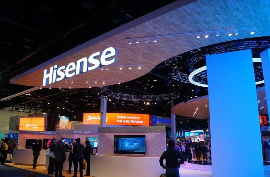 CES Hisense Booth (PRNewsFoto/Hisense)