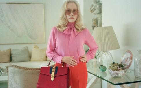 77-летняя актриса снялась в рекламной кампании