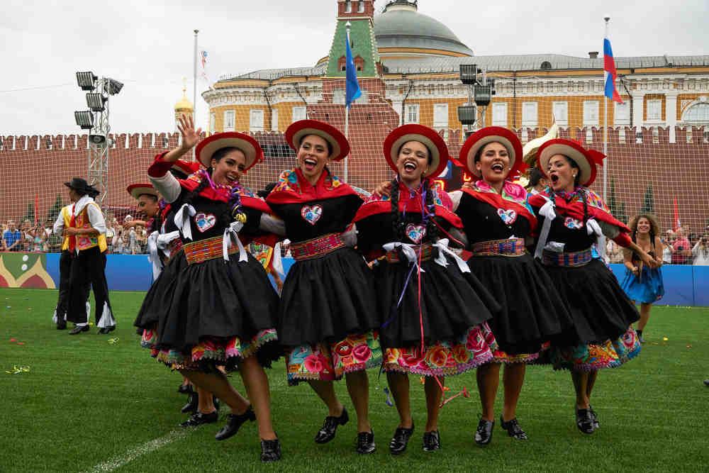 """Презентация """"Дом Перу"""" на Красной площади."""