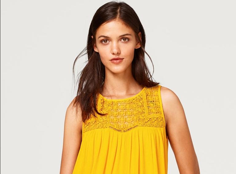 Желтый цвет — для смелых!