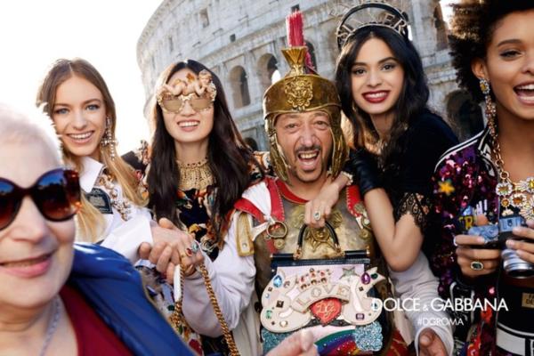 Кампания Dolce & Gabbana посвящена Риму