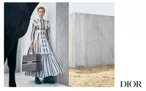 Дженнифер Лоуренс для Christian Dior Resort