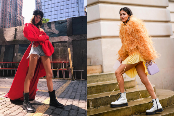 Грубые ботинки — осенний тренд