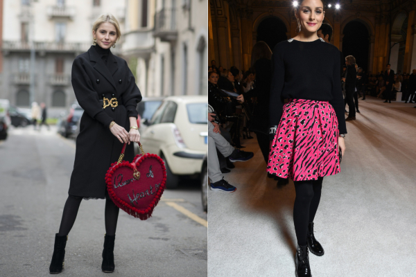 Мода на чулки возвращается