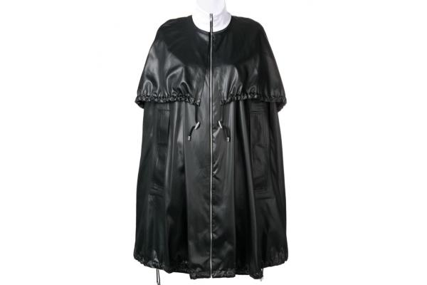 Пальто кейп — теплые зимние модели