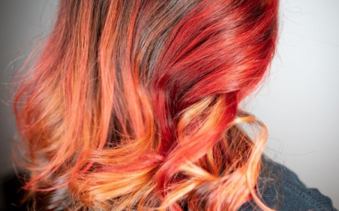 Красим волосы во «фланель»!