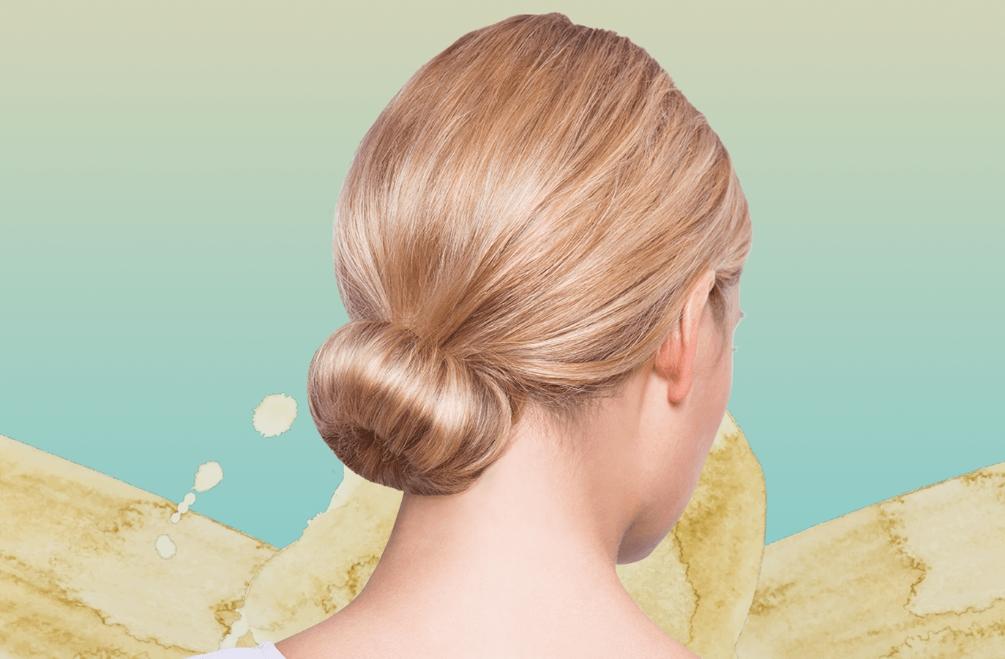 Волосы в пучок: варианты причёски на каждый день