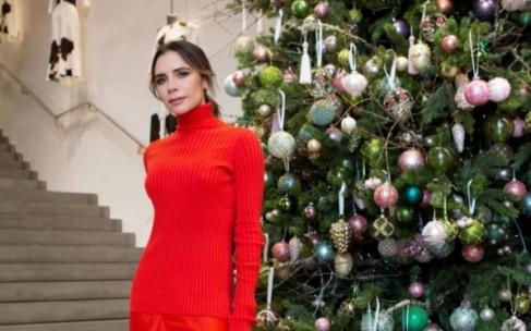 Новогодний образ Виктории Бекхэм: вариант на все случаи жизни