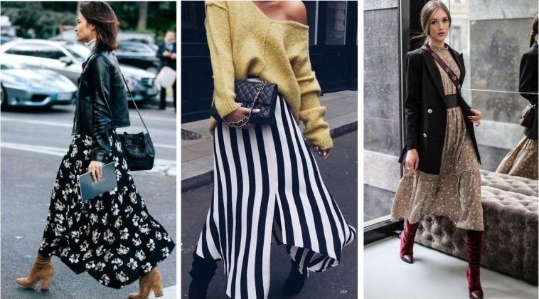 Как носить летнее платье зимой?