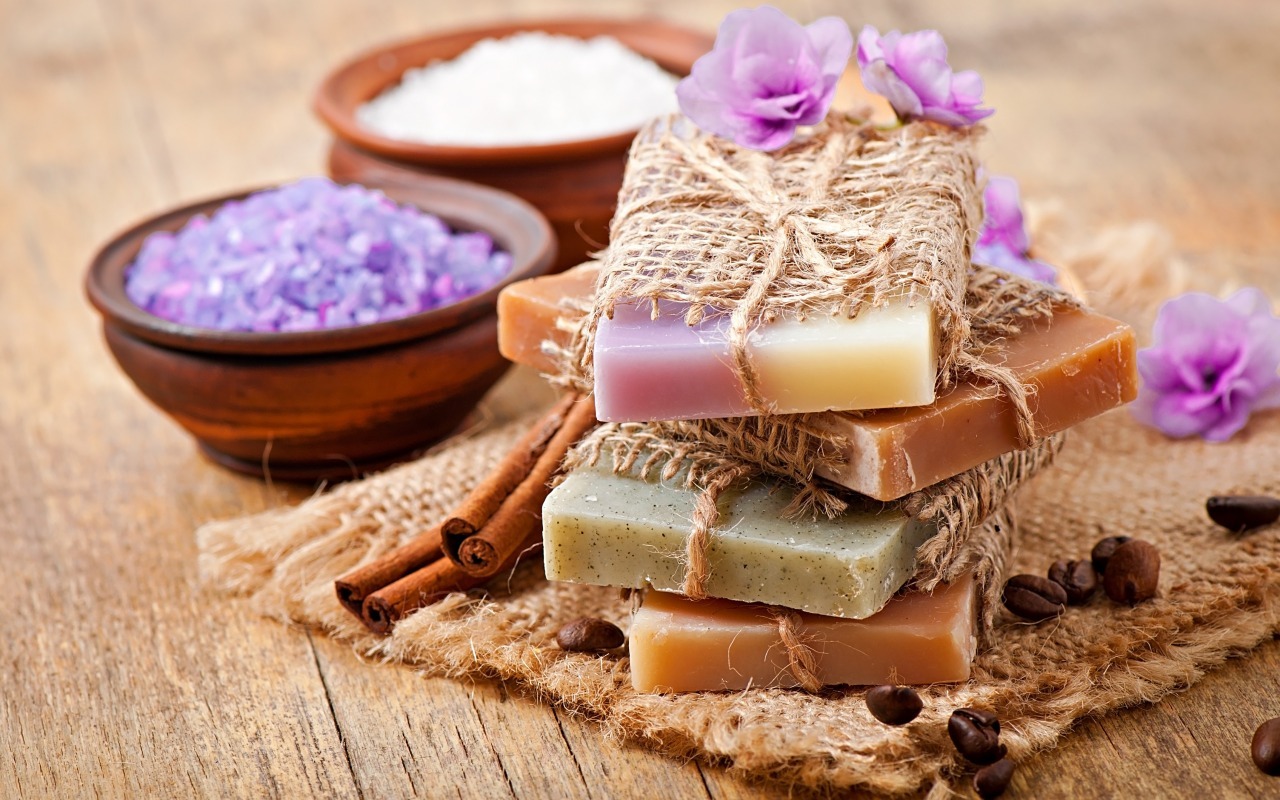 spa-soap-lavender-salt-coffee