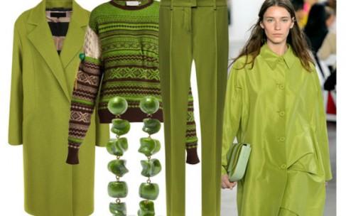 Оттенки зеленого: популярные цвета сезона