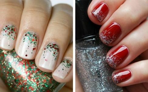 Маникюр для коротких ногтей к празднику: идеи для Нового года