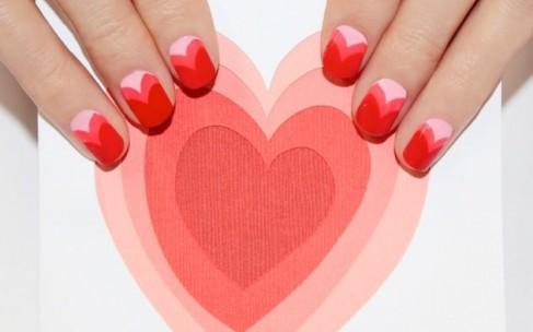 Маникюр на День Святого Валентина: лучшие идеи