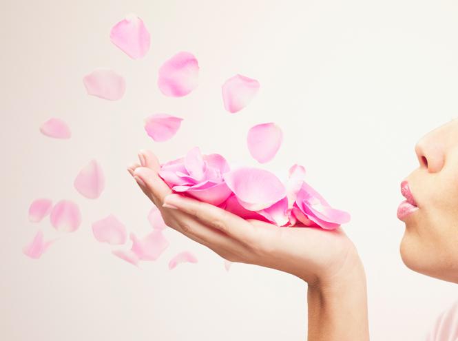 Розовый латте к 14 февраля