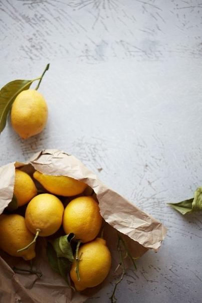Лимон: укрепление, отбеливание и скраб