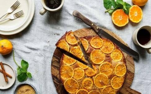 Быстрый апельсиновый пирог без муки
