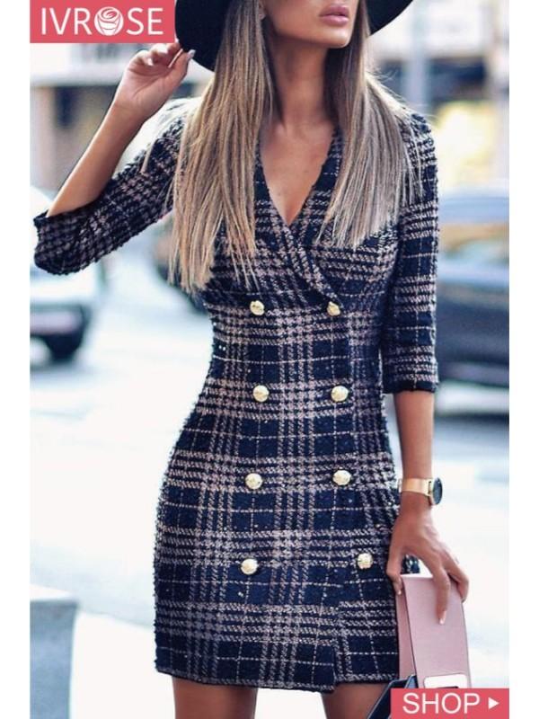 Как носить платье-пиджак? | Модные тренды | Красота