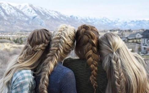 Причёски с косами на каждый день