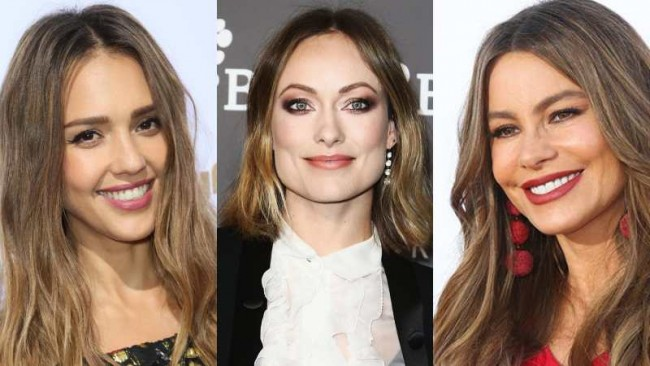 Популярный цвет волос в Голливуде