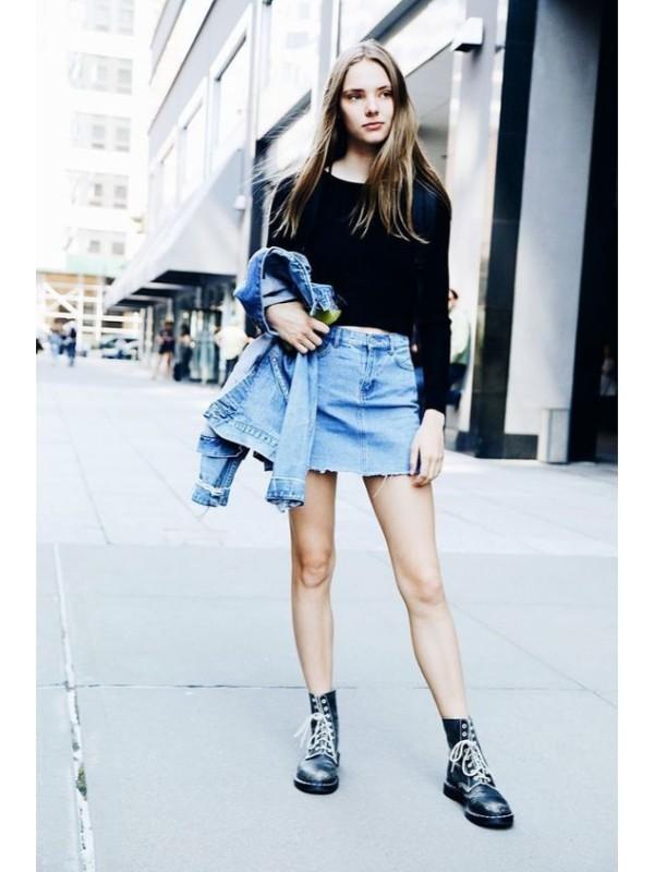 Как носить короткую юбку и выглядеть достойно?