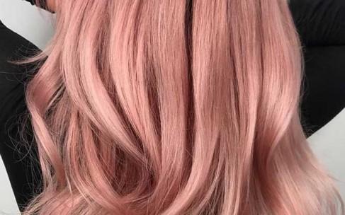 Окрашивание волос 2019: «Выцветшая пастель»