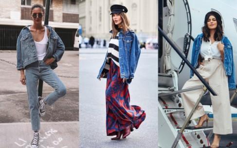 С чем носить джинсовую куртку: фото и рекомендации