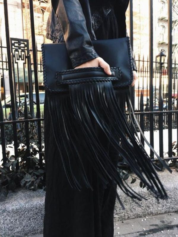 Модные сумки с бахромой 2019