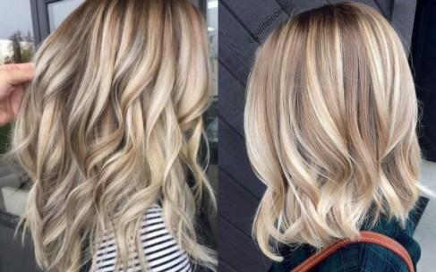 Песочные локоны — летний тренд в окрашивании волос