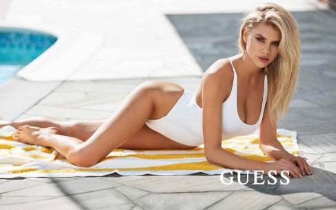 Специально для Guess: Шарлотта Маккинни