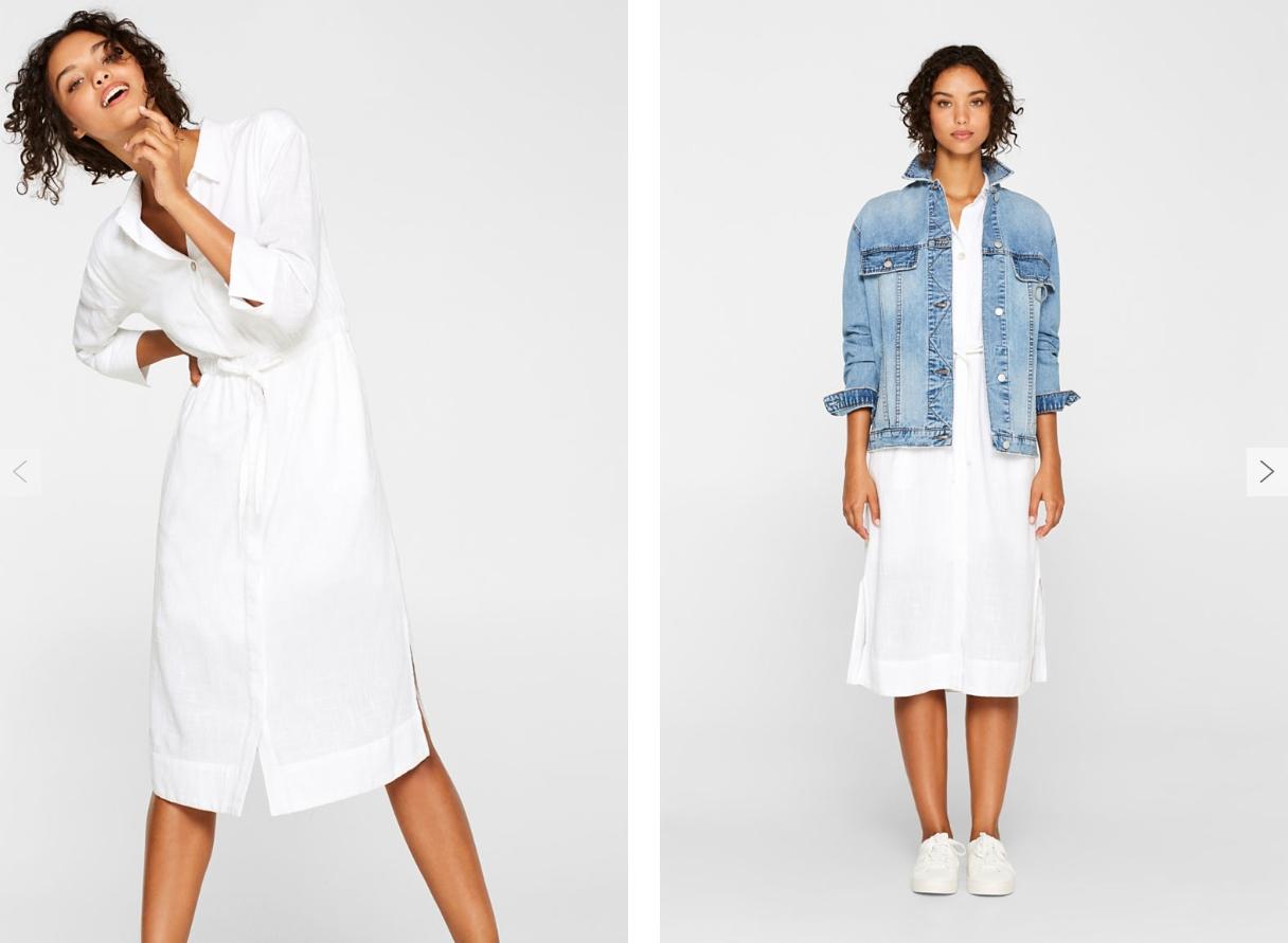 Классика моды — белое платье