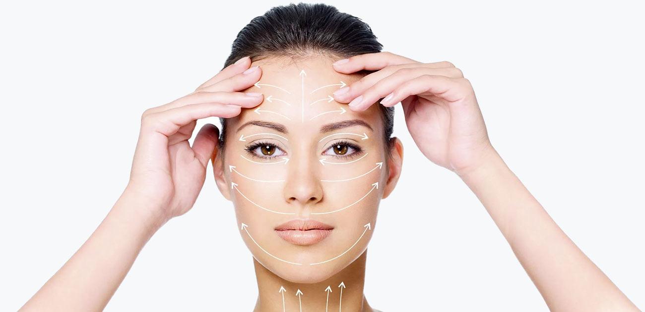 Простые техники для красивого овала лица