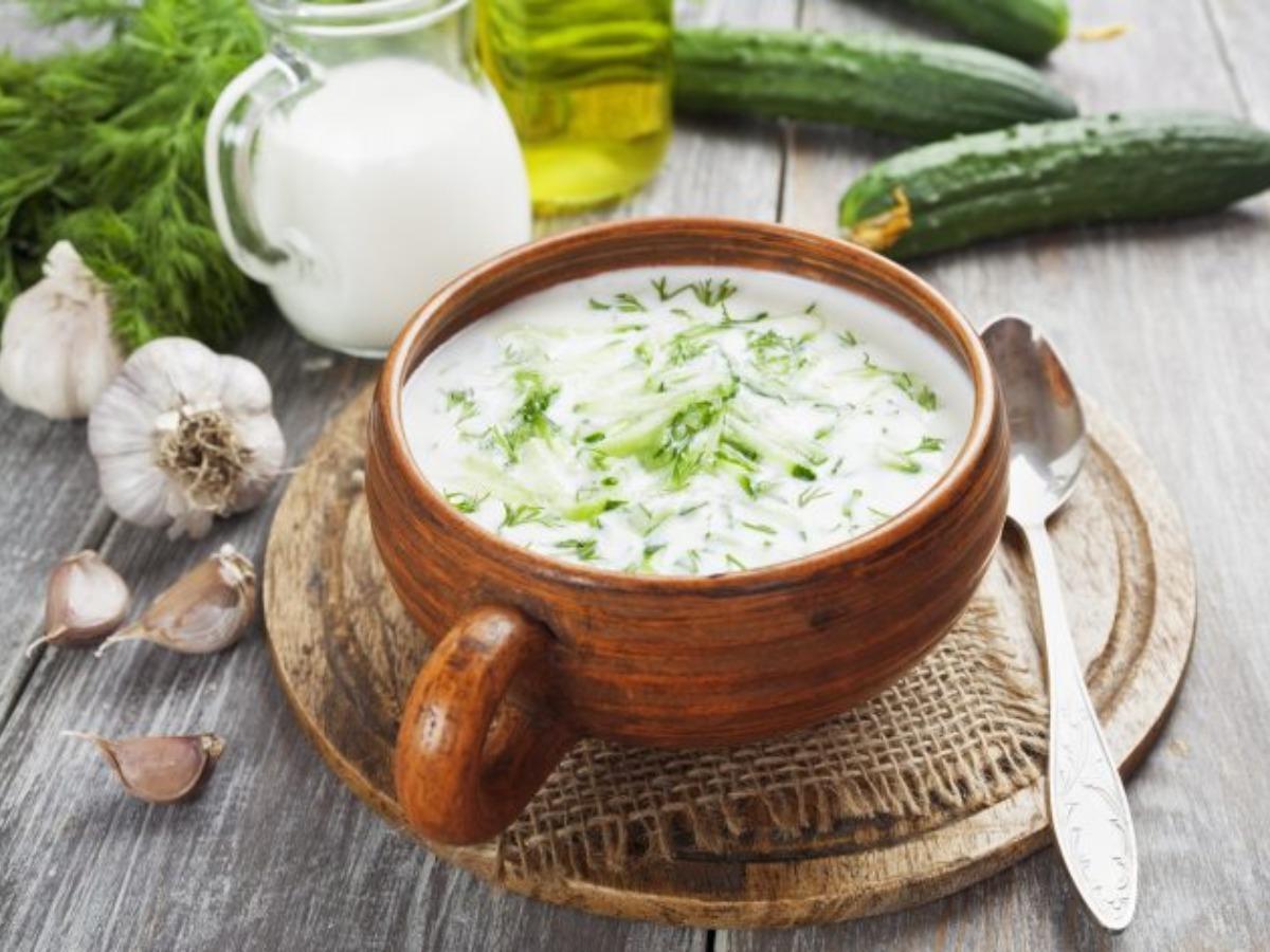 Холодный суп: идеи приготовления