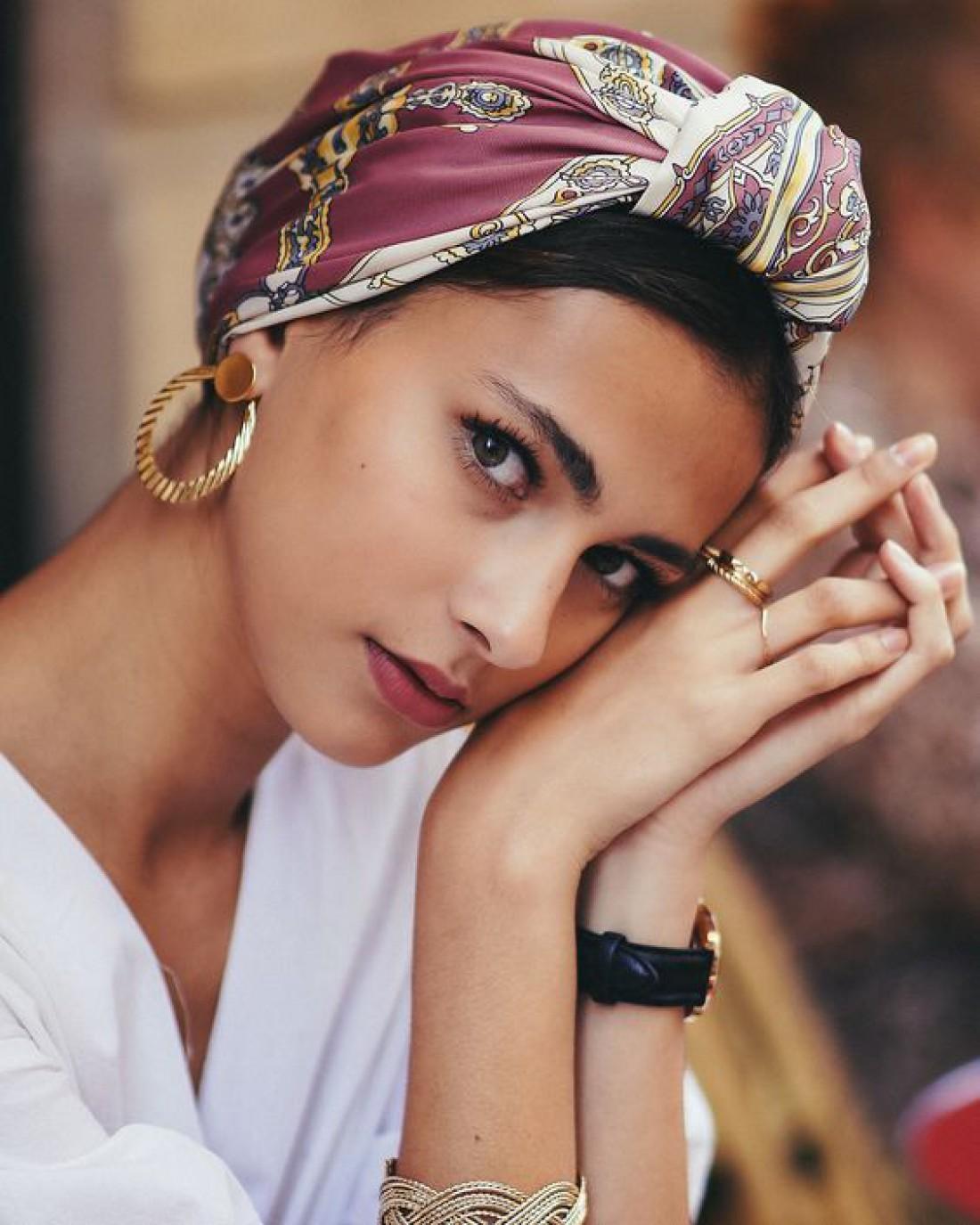 Тюрбан: как носить модный головной убор?