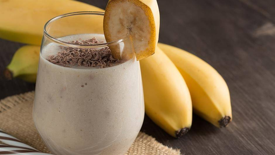 Кофе и банан: смузи, который подарит энергию на весь день