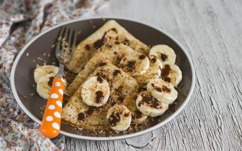 Полезные оладьи: банан и семена чиа
