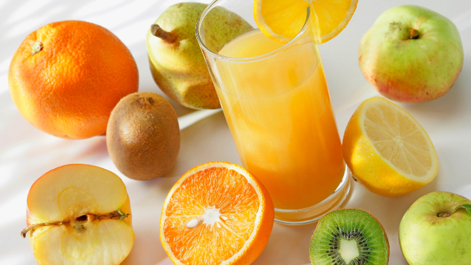 Вкусные и полезные соки на каждый день