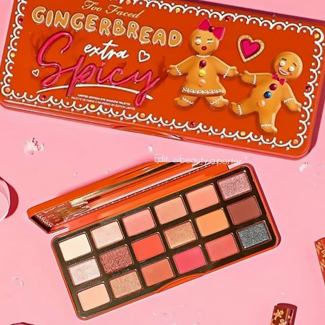 Too Faced Gingerbread Cookie Holiday 2019