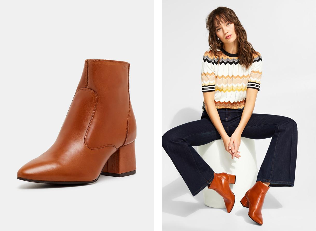 Как подобрать цвет обуви к одежде?