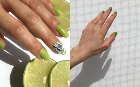 Зеленый маникюр — идеи дизайна ногтей