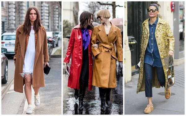 Модные пальто осени и зимы